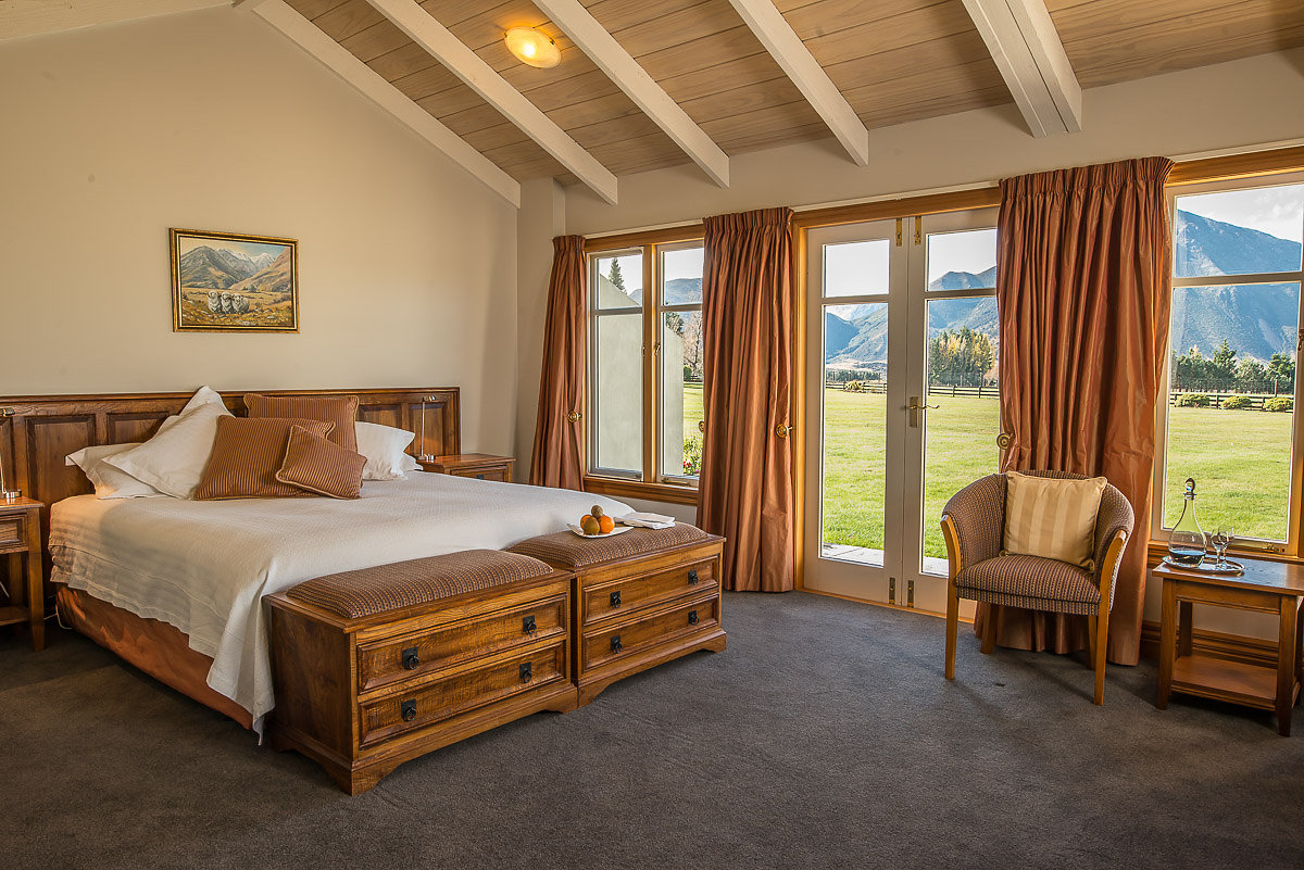 The Lodge - Lake View Suite | Grasmere Lodge, New Zealand