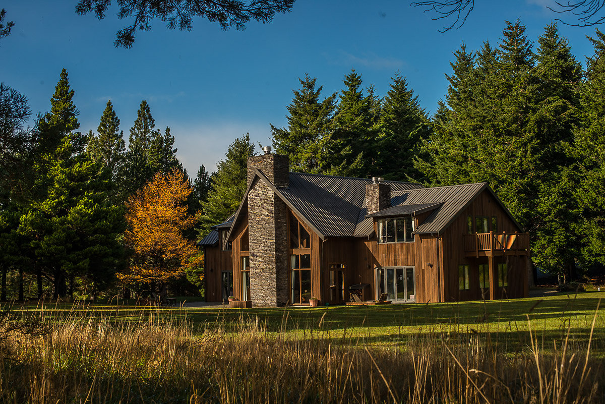Accommodation at Grasmere Lodge, South Island New Zealand